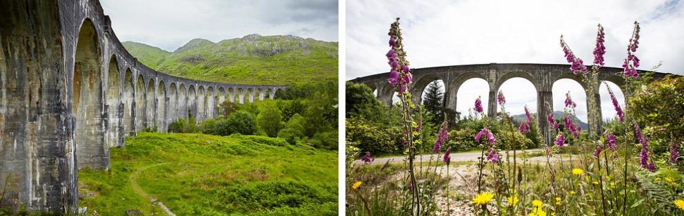 Виадук Гленфиннан, Шотландия