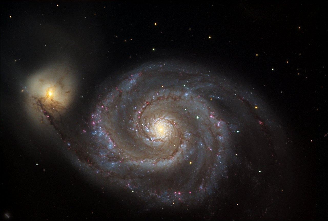 галактика спираль