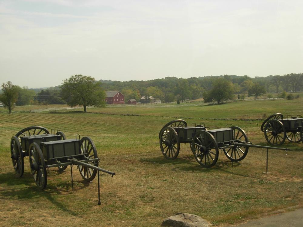 Геттисбергский национальный военный парк, Геттисберг, Пенсильвания