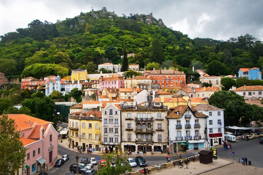 Город Синтра, Португалия