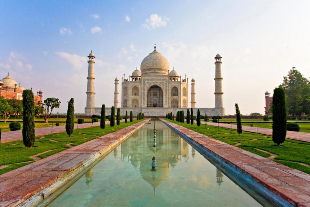 Мавзолей Тадж-Махал, Индия