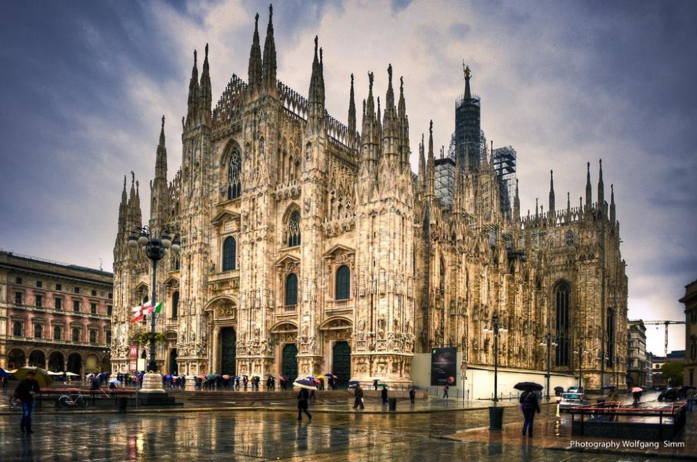 Миланский собор (Дуомо), Милан, Италия