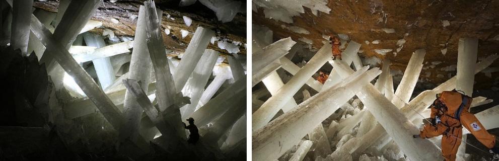 Пещера кристаллов, Мексика