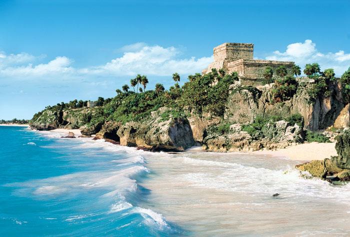 Лучший пляж Мексики Тулум