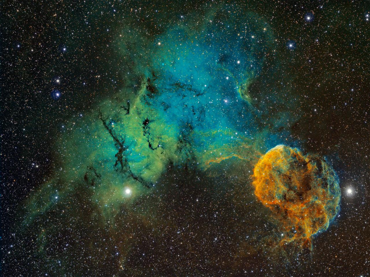 туманность медузы