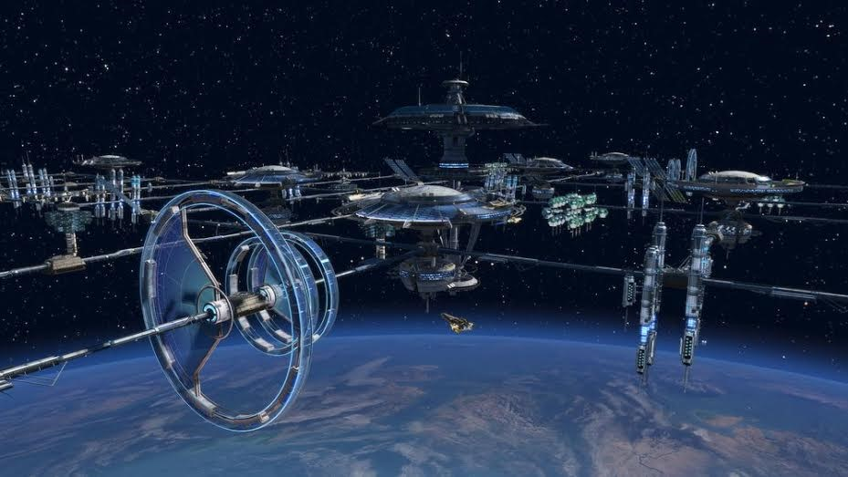 Pictures of Space Industrialization