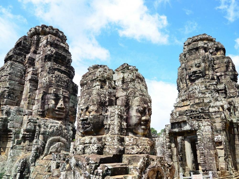 Храмовый комплекс Байон, Сием-Рип, Камбоджа