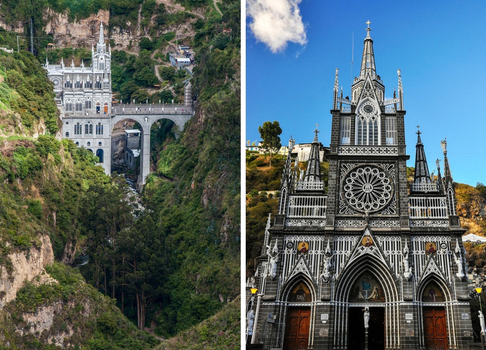 Церковь Лас-Лахас, Колумбия