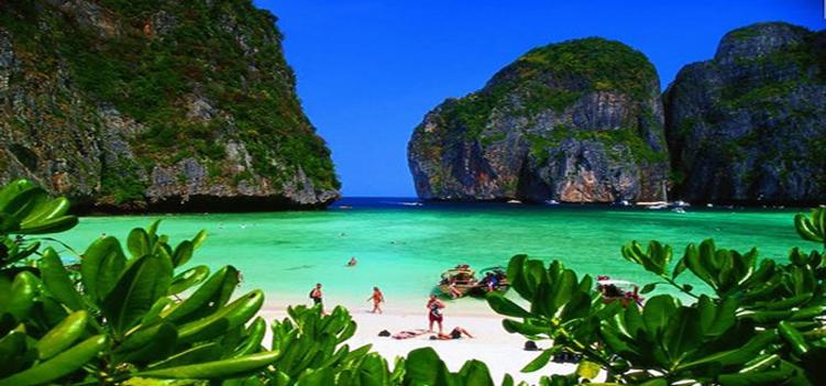 Самый красивый пляж Таиланда – бухта Майя