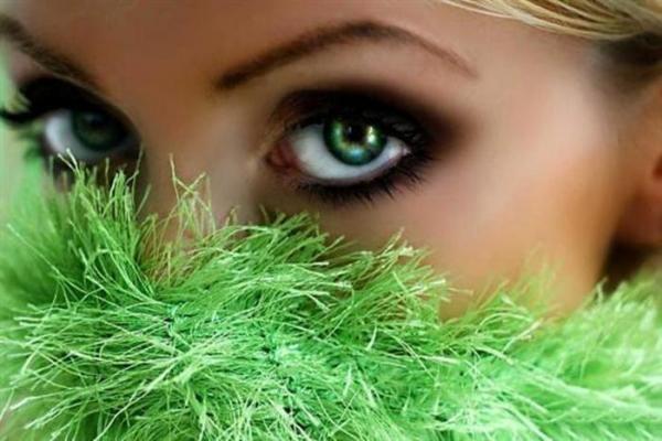 Зеленые глаза самые сексуальные