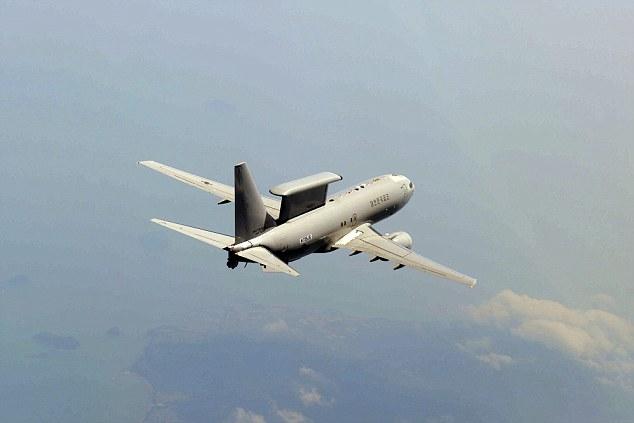 Полет самолета-радара