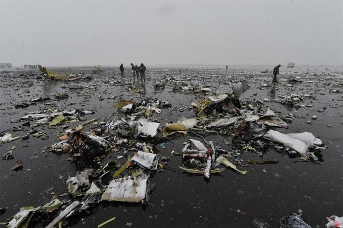 крушение самолета в ростове на дону