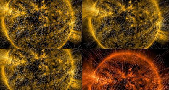 NASA опубликовала уникальную фотографию Солнца