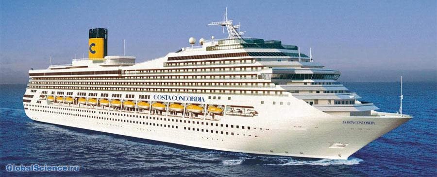 Круизный лайнер Коста Конкордиа