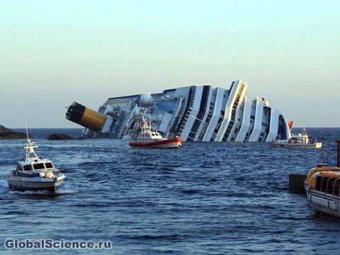 катастрофа лайнера Costa Concordia
