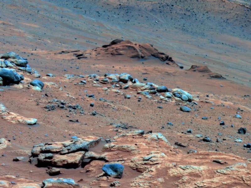 снег на Марсе