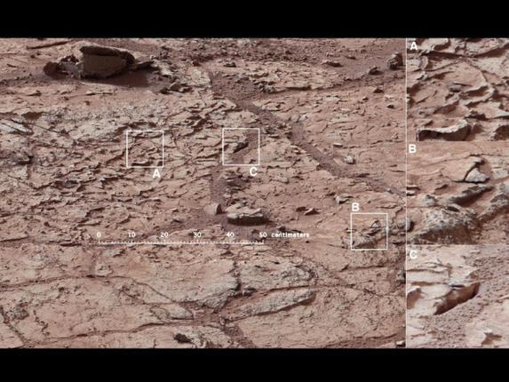 Река на марсе