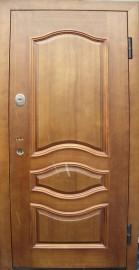 купить металлическую дверь двухстворчатую для входа в парадную у производителя