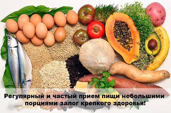 здоровое питание с чего начать