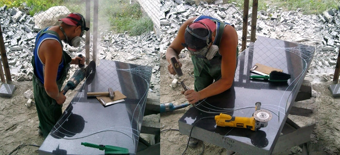 Изготовление мраморных памятников своими руками