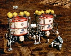 Первый ядерный реактор для поселения на Марсе и Луне