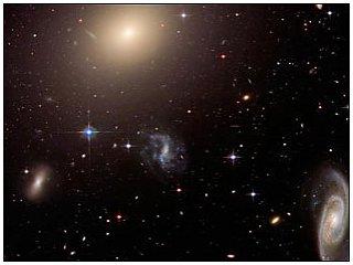 Компьютерная программа научилась различать галактики подобно человеку