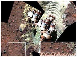 Сплячий марсохід виявив ознаки рідкої води