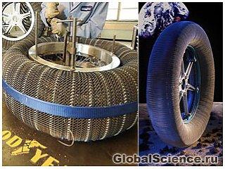 Изобретены шины, которые никогда не сдуваются