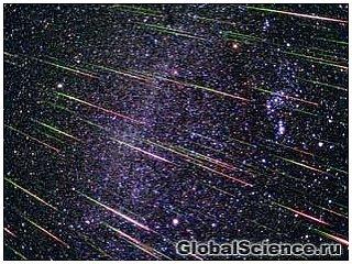 Великолепные картины метеоритного дождя Геменид