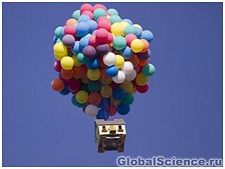 Летающий дом установил мировой рекорд