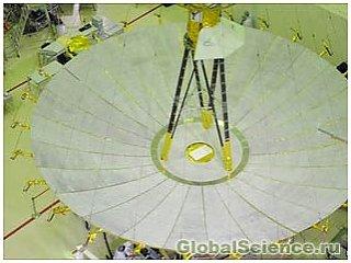Российский Радиоастрон стал самым крупным радиотелескопом в космосе