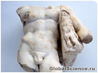 Редкая статуя Геркулеса была обнаружена в Израиле