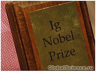 Объявлены победители Шнобелевской премии