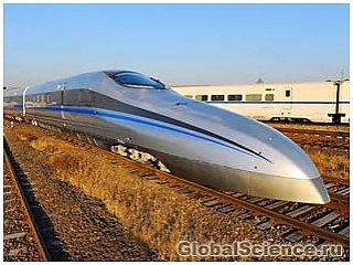 Китай тестирует поезд на рекордных скоростях
