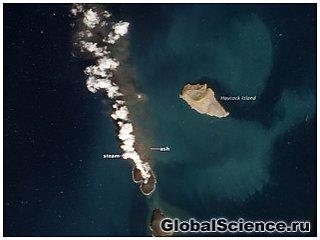 На Земле сформировался новый остров