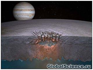 Ученые обнаружили огромное озеро на спутнике Юпитера