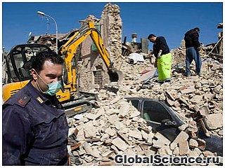 Второе сильное землетрясение произошло в Италии