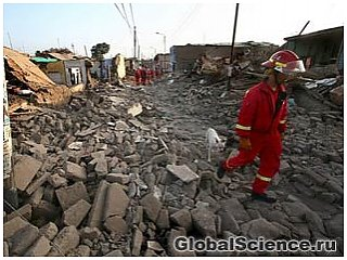 В Перу произошло сильное землетрясение