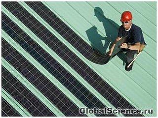 Новый способ производства солнечных панелей позволит снизить их цену вдвое