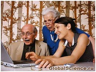 Всемирная паутина положительно влияет на мозг пожилых людей