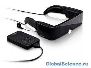 Новые 3D очки симулируют 80-дюймовый экран