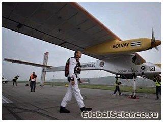 Первый межконтинентальный полет на солнечной энергии