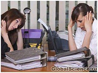 Стрессы на работе убийственны для женщин
