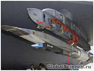 Сверхзвуковой экспериментальный летательный аппарат США потерпел крушение