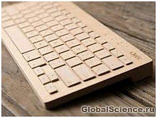 Французская компания «Oree» представила беспроводную клавиатуру из ствола клена