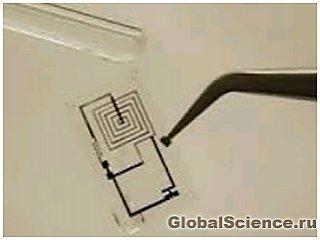 Созданы электронные устройства, способные растворятся бесследно