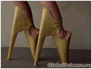 Дизайнер обуви из ЮАР представил новую модель - «Страшно красивые туфли»