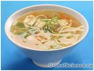 Куриный суп победит простудную инфекцию