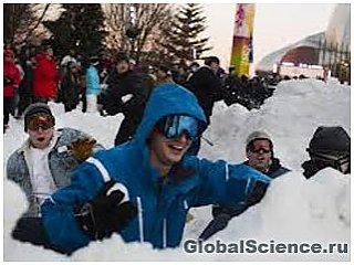 В Сиэтле игра в снежки не запрещена