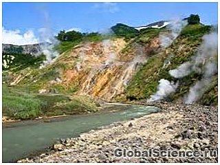 Водоросли, живущие в кипящей воде, обнаружены на Камчатке